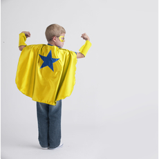 Cape - Yellow Blue Star