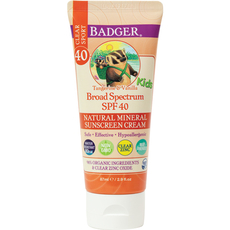 SPF 40 Kids Sport Clear Zinc Sunscreen Cream 86ml