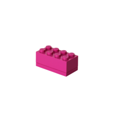 Mini Block 8 Pink