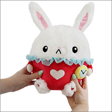 Mini Squishable White Rabbit
