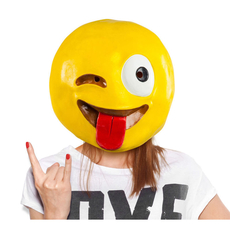 Tongue Emoji Mask