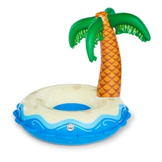 Island Oasis Pool Float