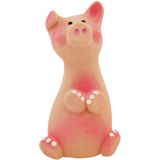 Natural Rubber Toys - Peggy Pig