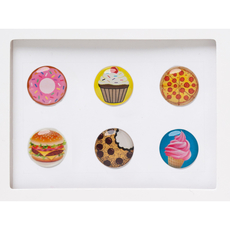 Treats Home Button Sticker Pack Includes 6pcs