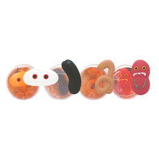 GIANTmicrobes Putty Pack (4 of each variety with display)