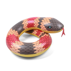Red Snake Inflatable Coil