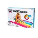 Giant Rainbow Lounger Pool Float