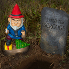 Scrooge the Garden Gnome