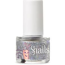 Silver nail glitter