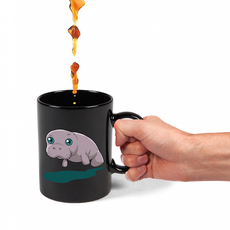 Colour Changing Manatee Mug