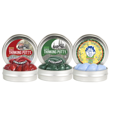 2017 Holiday Small tin Assortment includes 4pcs each of Evergreen, Ornament and Icicle