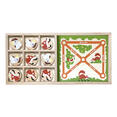 Fox Vs. Chickens Double Game Set