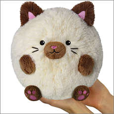 Mini Squishable Siamese Cat