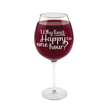 Gigantic Wine Glass-Happy Hour