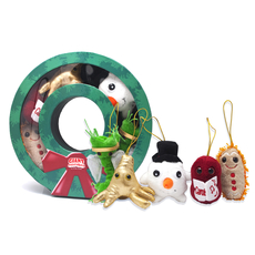 Christmas Wreath Mini Microbe Box