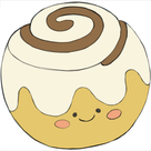Mini Squishable Cinnamon Bun