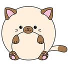 Mini Squishable Siamese Cat