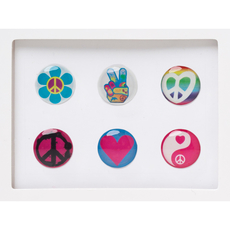 Love Home Button Sticker Pack Includes 6pcs