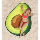 Gigantic Avocado Beach Blanket