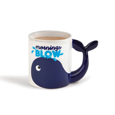 The Mornings Blow Coffee Mug