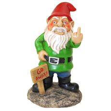 Go Away! Garden Gnome