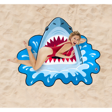 Shark Bite Beach Blanket