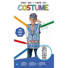 Colour Your Costume - Spy