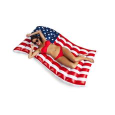 Waving American Flag Pool Float