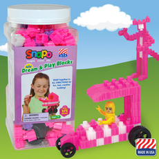 Dream and Play-Over 275 Pcs (Pink/Purple/White)