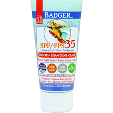 SPF 35 Sport Sunscreen CREAM - unscented 87ml