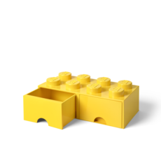 LEGO Storage Drawer 8 Yellow