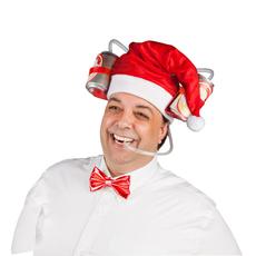 santa's DRINKING HAT
