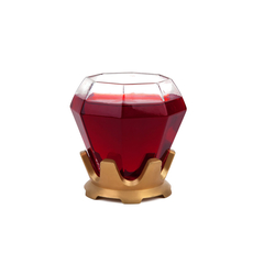 The Diamond Ring Stemless Wine Glass
