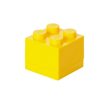 LEGO Mini Block 4 Yellow