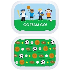 Faceplate 2pk - Go Team Go