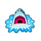Shark Bite Beach Blanket