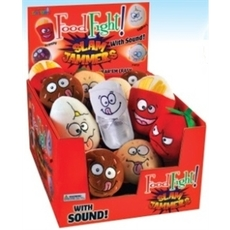 Slam Jammers Food Fight Counter Display 24pcs