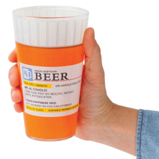 Prescription Pint Glasses 2 pc set