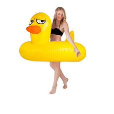 Giant Rubber Duckie Pool Float *NEW