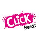 Click Beads (Orange, Yellow, Blue & Green)