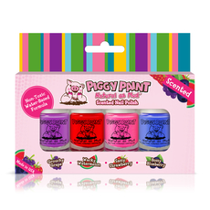 4 Mini Scented Polish Set (0.12 oz)