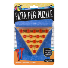 Pizza Puzzle Peg Game