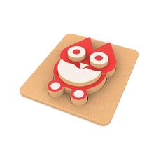 Elou 3D Owl Puzzle